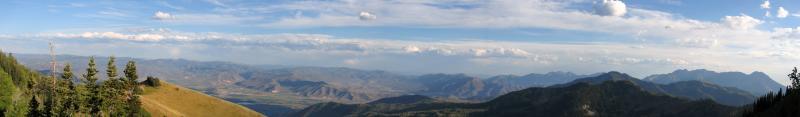 Snake Creek Pass panorama 2