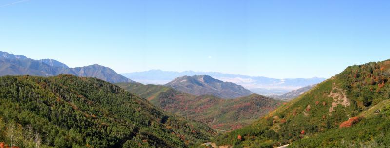 Big Mountain panorama