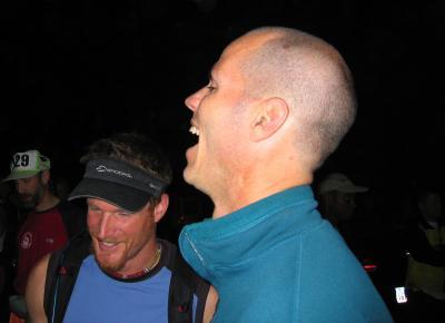 PRE-RACE<br>Mike Adams & Eric Sach</br>