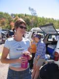 Mike Adam's wife & crew, Marin