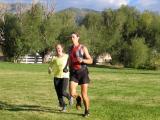 Scott finishes