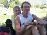 Leah & Scott post-race