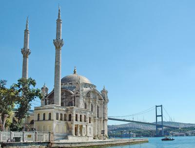 Mecidiye Camii, Bosphorus Bridge
