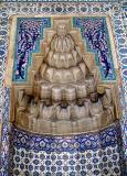 At tomb of Hürrem (Roxelana), his favorite wife