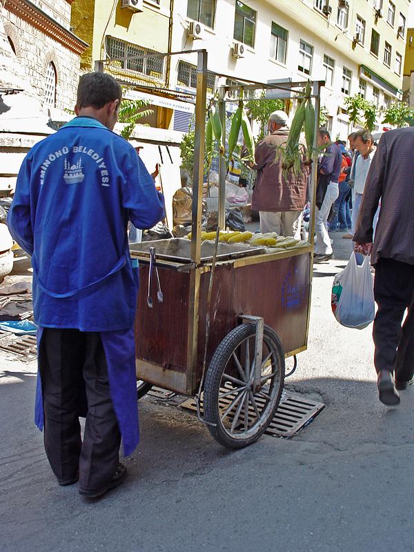 Pazar misirci (corn seller)