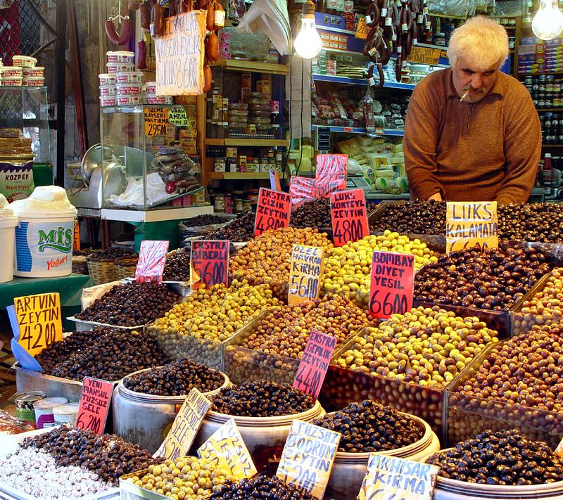 Pazar olive dealer