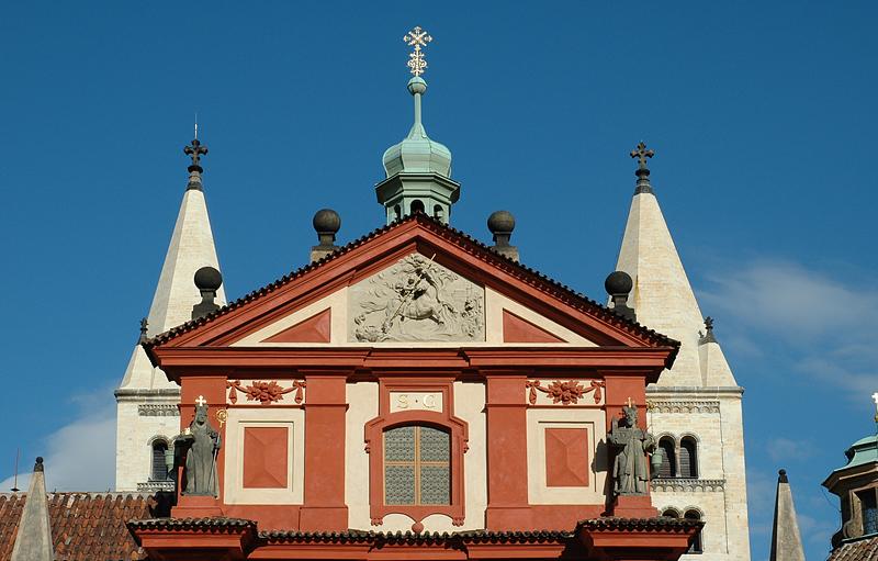 Church in castle area