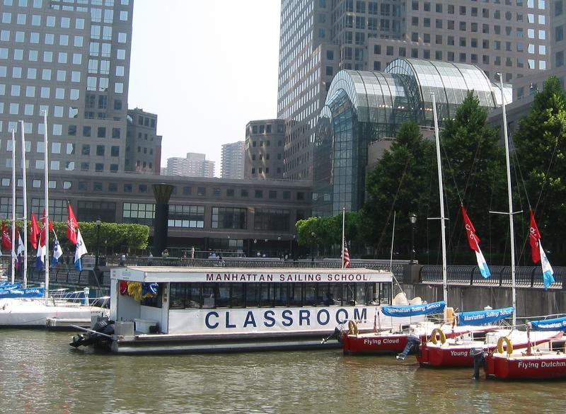 Manhattan Sailing School & Winter Garden