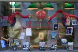 NYU Bookstore - New Releases Window Display