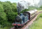 Caledonian Railway No 419 on the Boness and Kineill Railway 2004.jpg