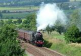 Black 5, 45407 heading south on the Settle & Carlisle line.jpg