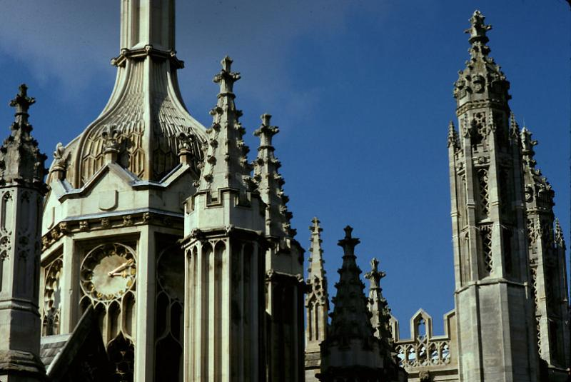 Porters Lodge Kings College, Cambridge, England