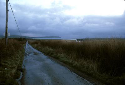 Empty Road W. Ireland