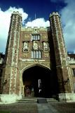 Gate of Trinity College, Cambridge, England