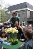 Doop van de narcis Champigné, 26 april 2004