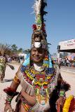aztec dancer face