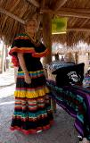 martha in her Seminole dress