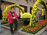 Mom and Flowers...(wats with flowers and ladies???)