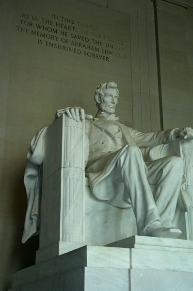 Abe Lincoln himself...