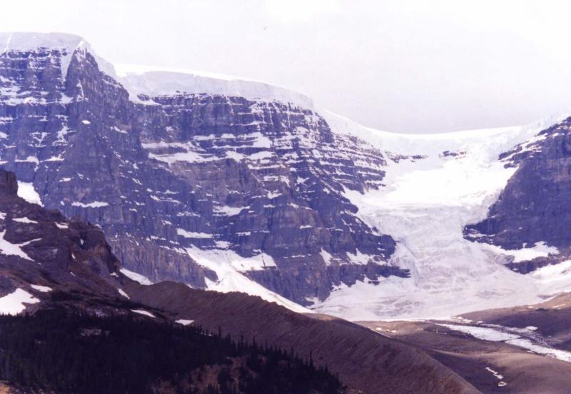 Columbia Icefields Glacier