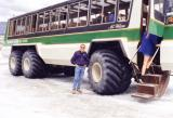 Icefield Tour Bus