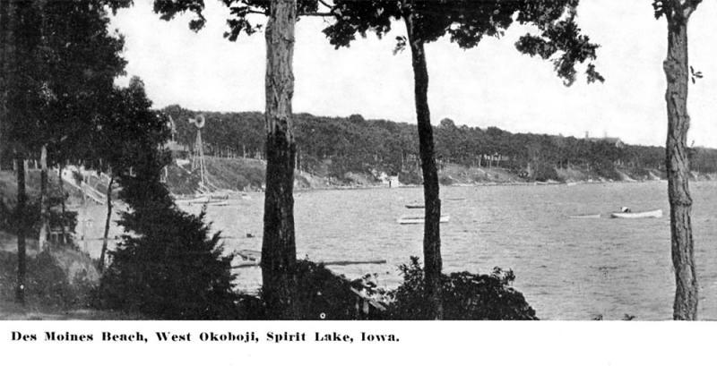 Des Moines Beach 1912