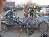 Rescue practice April 28, 2002
