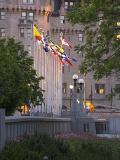 Flags near Chateau Laurier