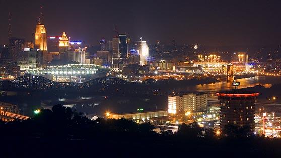 Cincinnati at Night