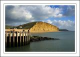 Pier and cliffs, West Bay, Dorset