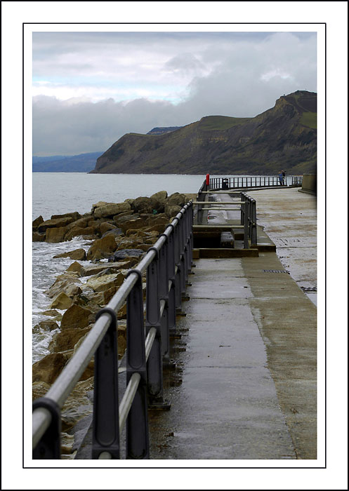 The railings, West Bay