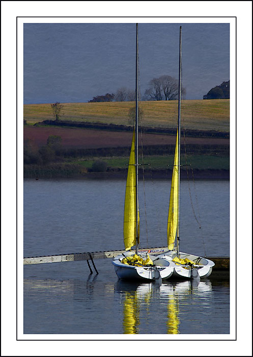 The twins ~ Chew Valley lake