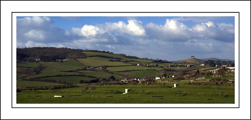 Rural panorama ~ west of West Bay, Dorset