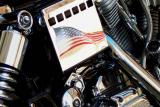 Motorcycle & Flag WTC 2002