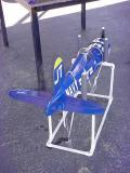 Corsair airplanefuselage holder