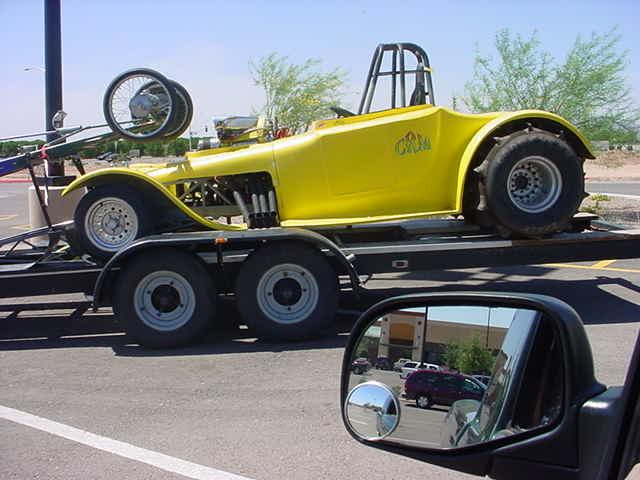 sand dune buggy<br>at Walmart Mesa