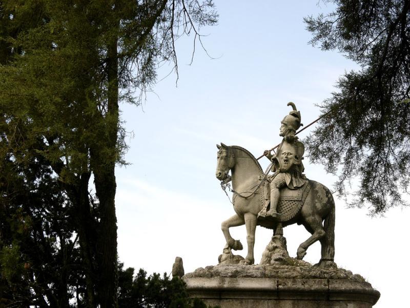 Soldier, Bom Jesus Shrine, Braga, Portugal, 2004