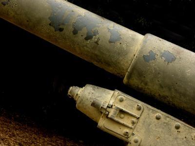 German Field Gun, St. Peters Port, Guernsey, UK, 2004