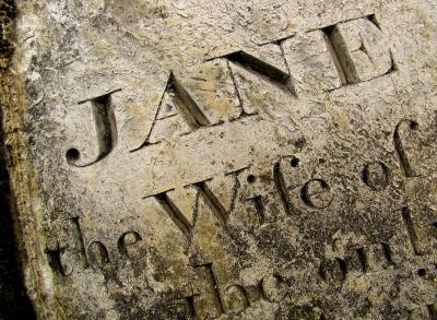 Remembering Jane, Church of King Charles, Falmouth, England, 2004