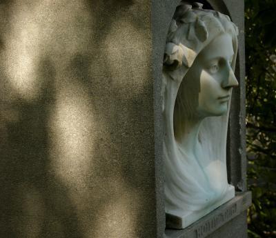 Art Nouveau Monument, St. Stephen's Green, Dublin, Ireland, 2004