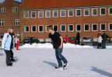 Children and Adult  enjoy Skating