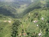 Pokhara, Sarangkot Hill - Paragliding