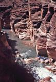 Kayak in Havasu creek
