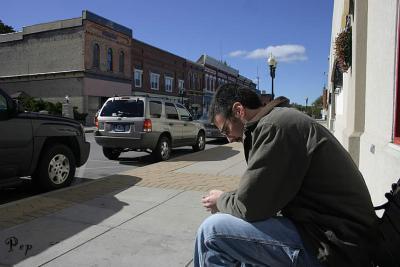 Contemplating?