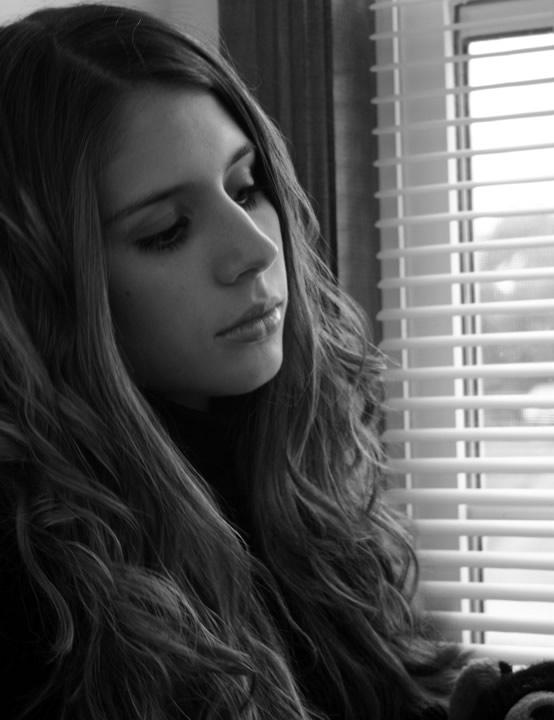 Jessica near the window