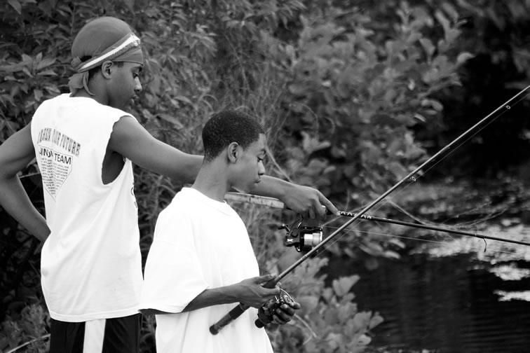 June 7, 2004 - Fishing