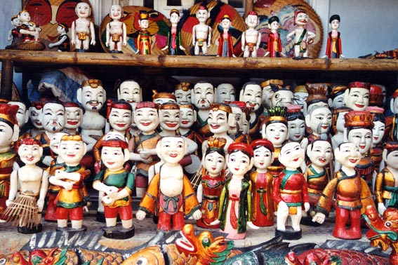 Hanoi puppets, published by www.11.be
