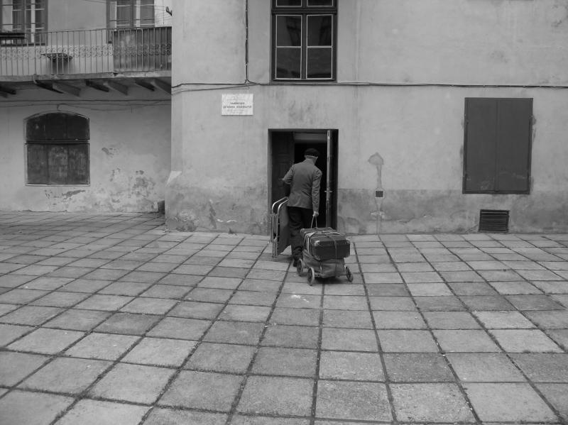 Jewish Quarter, Lviv, Ukraine.