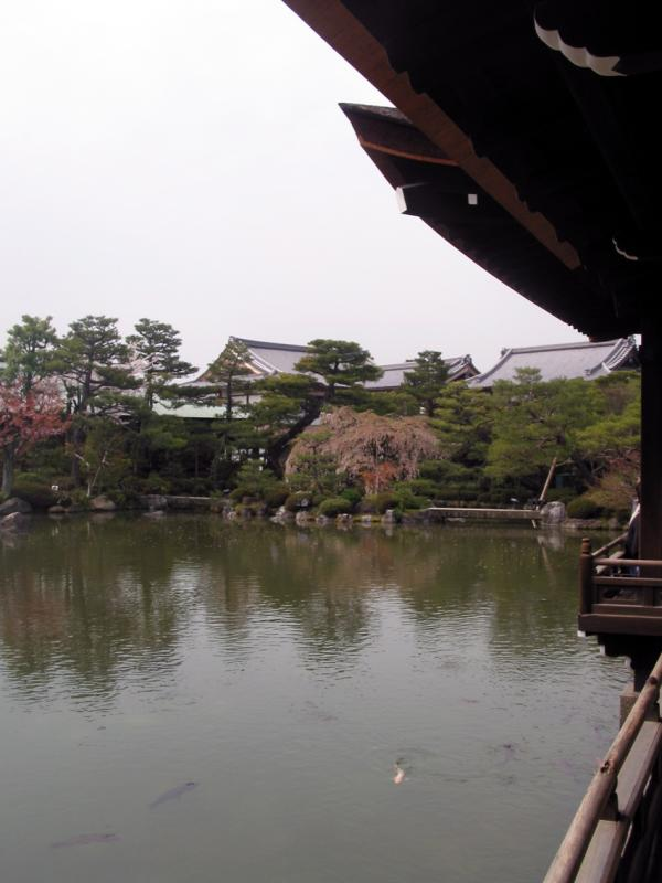 Pond in Heian Gardens