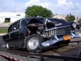 Smashed 55 Chevy Bel Aire